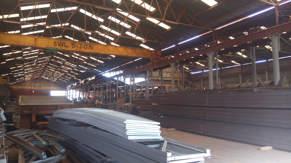 Steel Fabrication Works Workshop